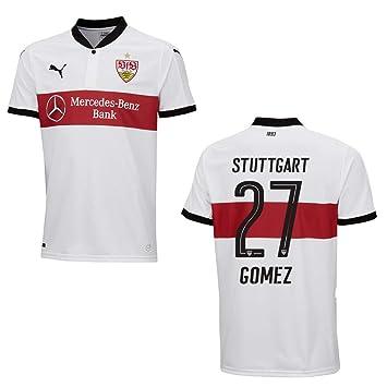 Puma VfB Stuttgart Trikot 3rd Herren 2018 Gomez 27, Größe