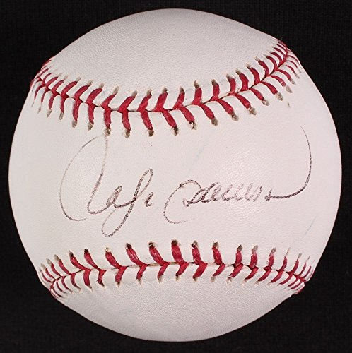 (Andre Dawson Autographed Signed 2004 World Series Baseball - JSA Certified)