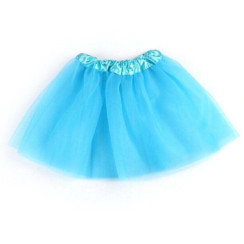 Jlong Girls Ballet Dance Tutu Stage Show Princess Pettiskirt 3 Layer Tulle Dress JL-ZQP00366B