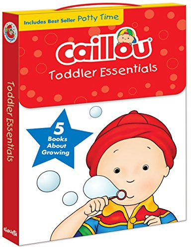 Caillou, Toddler Essentials: 5 Books about Growing (Training Potty Caillou)