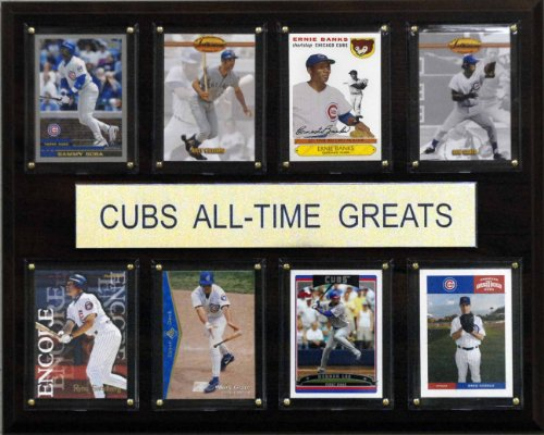 (MLB Chicago Cubs All-Time Greats Plaque)