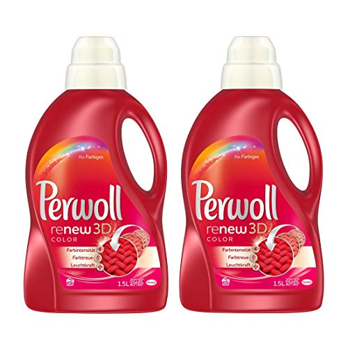 Perwoll Color Liquid Detergent 1.5L - 2-Pack