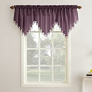 contemporary luxury deals valances treatment decor purple swag windows get guides quotations soho valance find on cheap window shopping for