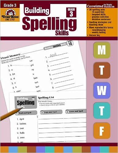 Amazon.com: Building Spelling Skills: Grade 3 (8601410873004 ...