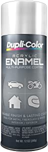 Dupli-Color DA1670 Gloss White OSHA White General Purpose Acrylic Enamel - 12 oz.