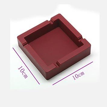 Aschenbecher Dunkelrote Farbe Brandschutz Langlebig Aus Silikonkautschuk  Moderne Art Für Schlafzimmer Wohnzimmer Wohnzimmer Wohnzimmer WC