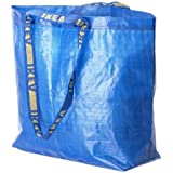 IKEA FRAKTA Shopping Bag, Blue, 36L - Maximum Load 25 kg, blue by Ikea