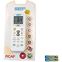 HQRP Universal Remote Control Compatible with LG LT103HNR LT121CNR LT123CNR LT123HNR LT143CNR LW1011ER Air Conditioner + HQRP Coaster