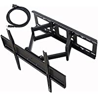 "VideoSecu TV Wall Mount for LG 49 55"" 58"" 60"" 65"" 49UB8200 49UB8500 49UB8300 55LA9650 58UF8300 60UF7300 65UF6800 65UF6450 65UF8600 65UF7690 55LA9700 60LS5700 60GA6400 60LA8600 60LA7400 TV C08"