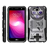 TurtleArmor | LG X Power 2 Case | LG Fiesta 2 Case | LG X Charge Case [Hyper Shock] Hybrid Dual Layer Armor Holster Belt Clip Case Kickstand – Classic Game Controller Review