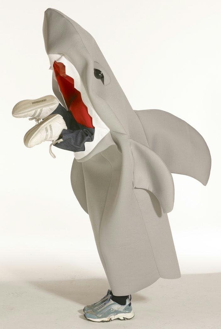 B001BY1JT0 Shark Lil Man Eating Shark Costume - One Size 51mvD7Ur8cL