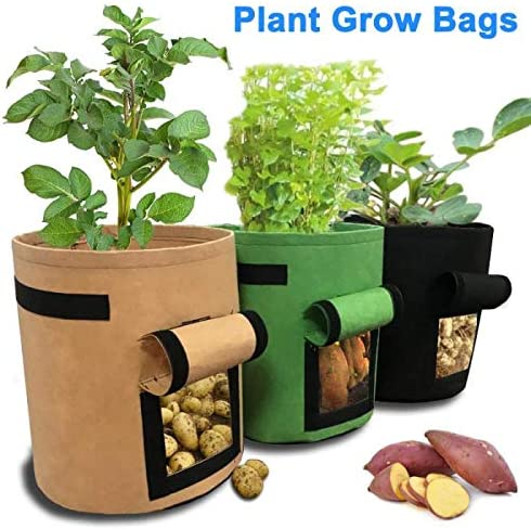 Bolsa de cultivo para patatas, transpirable, no tejida, para ...