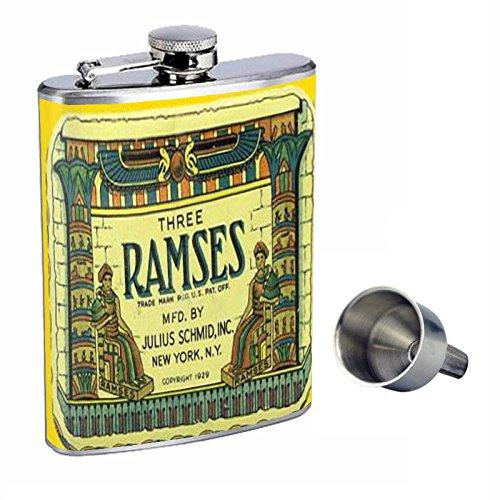 【中古】 RamsesヴィンテージCondom Tin Funnel Free 1929 Perfection inスタイル8オンスステンレススチールWhiskey Flask with Free Funnel B015QLLJR0 d-269 B015QLLJR0, 宇久町:2e436b2c --- domaska.lt