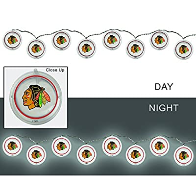 Team Sports America NHL Outdoor Safe Battery Powered String Light Set
