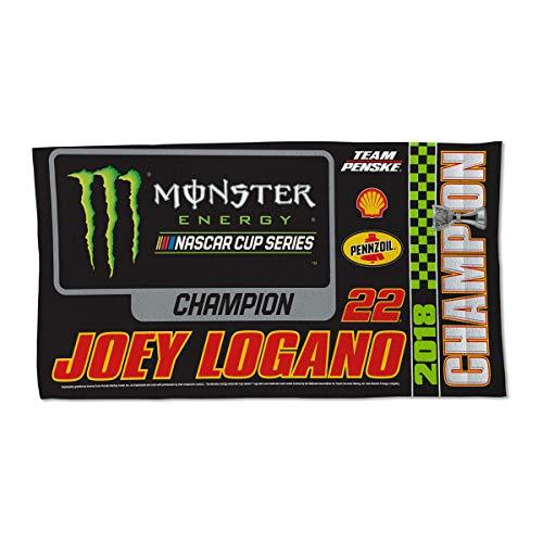 Wincraft Joey Logano 2018 NASCAR Champions Locker Room Towel