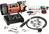 Tools Centre Powerful 120W Mini Bench Grinder