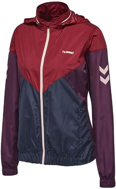 Hummel cortavientos para mujer rojo – Ava unidad Zip Jacket ...