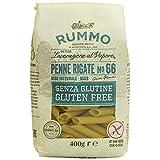 Rummo Lenta Lavorazione, Rummo Penne Rigate No.66 Gluten Free, 400 gramos
