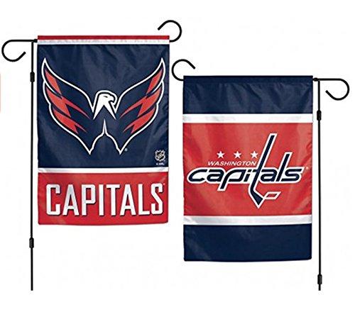 WinCraft NHL Washington Capitals 2-Sided Garden Flag, 12 x 1