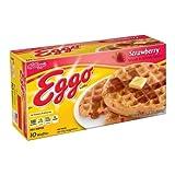 Eggo Strawberry Waffle, 1.23 Ounce - 80 per case.