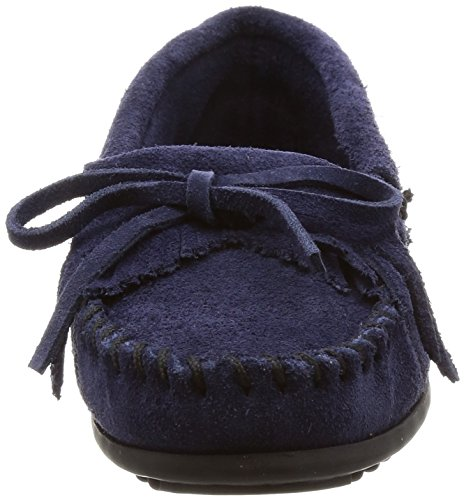 Blue Kitty 9t Suede Brown Navy Minnetonka t0qvZwCv