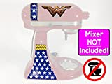 Wonder Woman new logo vinyl wrap sticker kit for KitchenAid stand mixers NO MIXER INCLUDED - Decals ONLY - SD0011