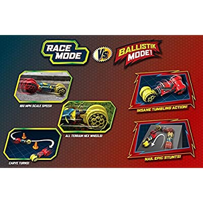 Hot Wheels Ballistik Racer Vehicle: Toys & Games