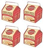 Aspen Mulling Cider Spices - Original Spice Blend, 5.65 oz Carton, Pack of 4