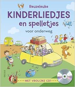 Reuzeleuke Kinderliedjes En Spelletjes Voor Onderweg Met Vrolijke Cd Amazon Co Uk Van Craen Hilde 9789044734317 Books
