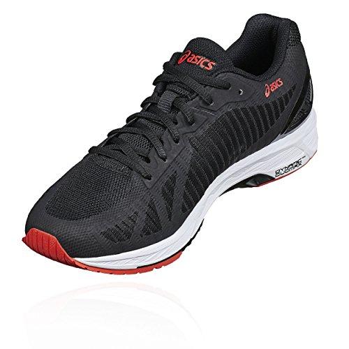 Chaussures de Black Noir Asics Gel DS Running 001 Homme Carbon 23 Trainer q7AaSwg