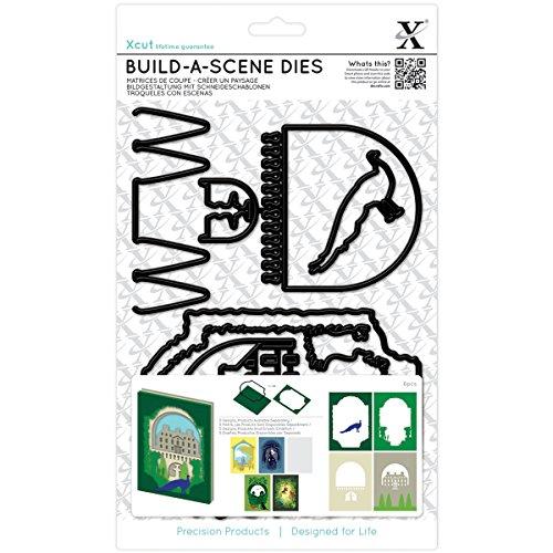 DOCrafts Shadow Box Formal Garden Xcut Build-A-Scene Dies 6/Pkg from DOCrafts