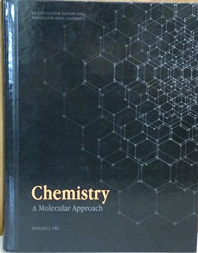 Chemistry A Molecular Approach (Second Custom Edition for Washington State University)