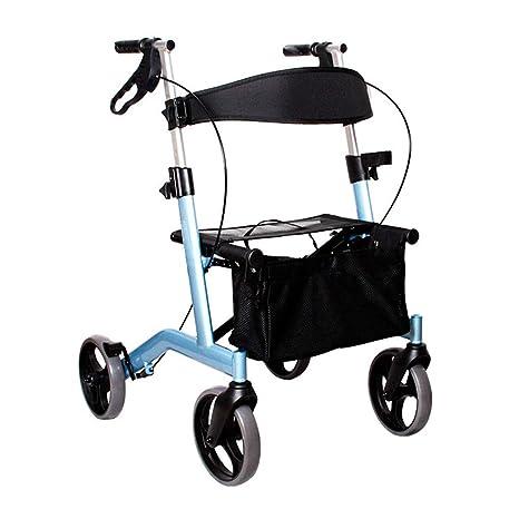 Walk Aid Ayuda para Caminar Plegable, Andador con Ruedas De ...