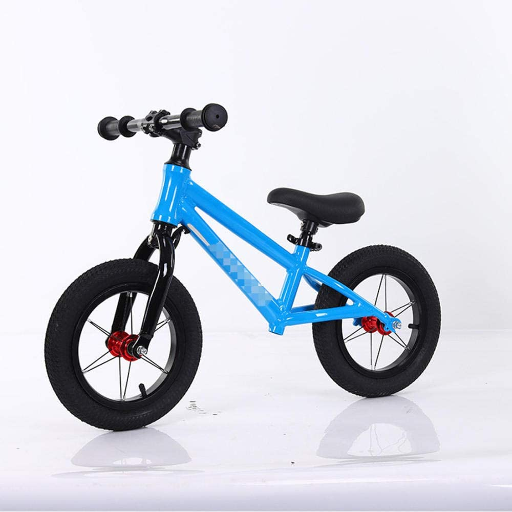 YSCYLY Bicicleta Sin Pedales para NiñOs Y NiñAs,14 Pulgadas para 2~6 años,Sin Pedal Balance De Bicicleta Bicicleta De Aprendizaje Y Juguete para NiñOs