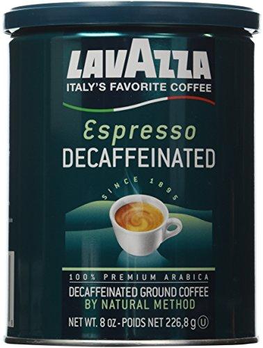 Lavazza Decaffeinated Espresso Ground Coffee