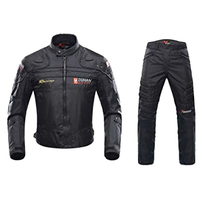 ANTLEP Traje de Moto Chaqueta + Pantalón de Motorista Prueba ...