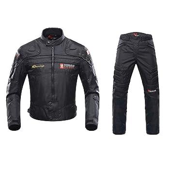 ANTLEP Traje de Moto 2 Piezas Chaqueta + Pantalón de ...