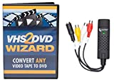 ClearClick VHS To DVD Wizard with USB Video Grabber & Free USA Tech Support (Bulk Packaging)