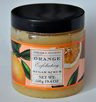 Asquith Somerset Orange Exfoliating Sugar Scrub