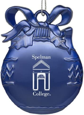 Glass Water with Silicone Sleeve-20 oz.-Blue Spelman College