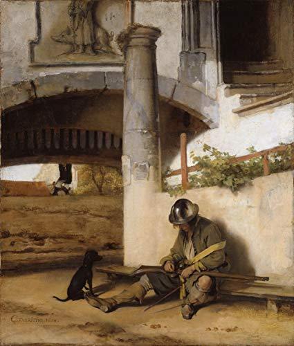 (Berkin Arts Carel Fabritius Giclee Art Paper Print Art Works Paintings Poster Reproduction(The Sentry))