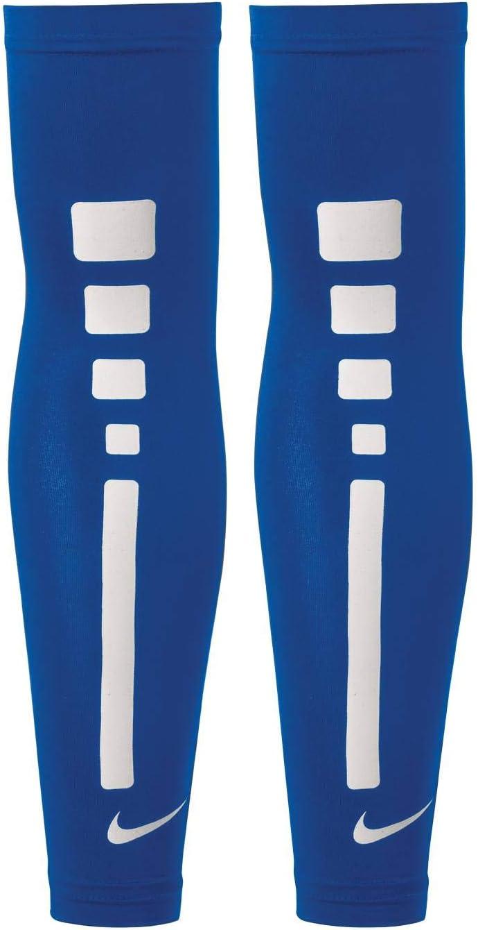 Par de Calentadores para Brazos Nike Pro Elite Sleeves Blue Royal ...