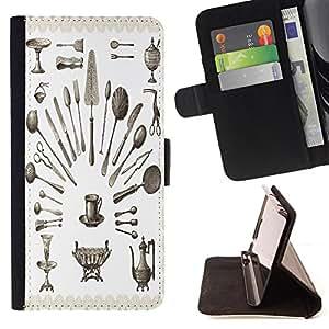 Dragon Case - FOR Sony Xperia M2 - you are the only one? - Caja de la carpeta del caso en folio de cuero del tirš®n de la cubierta protectora Shell