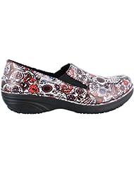Spring Step Womens, Ferrara Slip Resistant Clog Pink 9 M