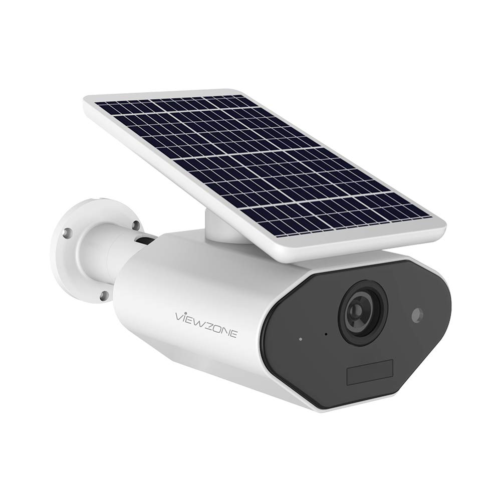 Outdoor Battery Powered Security Camera,Solar Powered WiFi Camera,Waterproof 960P Outdoor Surveillance IP Camera,Wireless Rechargeable Battery Camera, Long Standby Time, Motion Detection,Two Way Audio by VIEWZONE