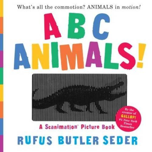 ABC Animals!: A Scanimation Picture Book (Scanimation Picture Books)