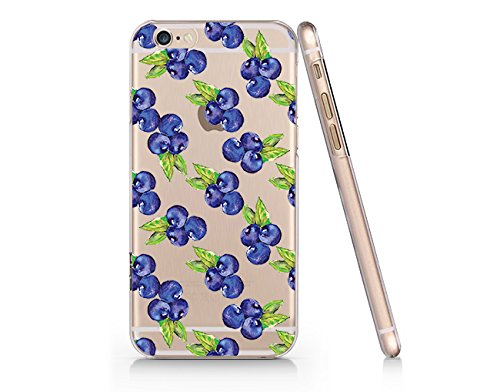 - Blueberry Transparent Plastic Phone Case for iphone 6PLUS SUPERTRAMPshop (iphone 6 plus)