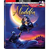 Aladdin Live Action 2019 Limited Edition(4K Ultra/Blu-Ray/Digital) with Filmmaker Gallery Book