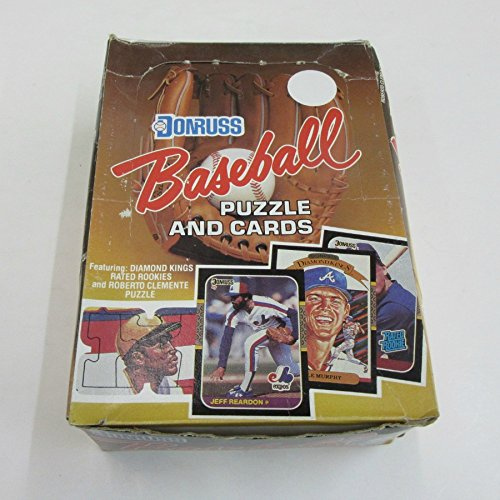 1987 Donruss Baseball Wax Box (Unopened Box Baseball)