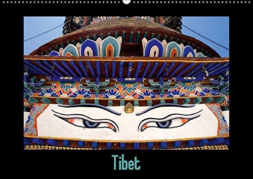 Tibet (Wandkalender 2017 DIN A2 quer): Weites Land (Monatskalender, 14 Seiten ) (CALVENDO Orte)